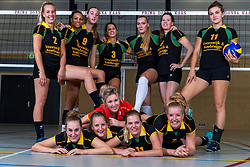 10-09-2018 NED: Team PDK Huizen season 2018-2019, Huizen<br /> The players of Top Division club vv Huizen women season 2018-2019 / Team PDK Huizen