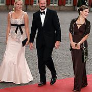 NLD/Apeldoorn/20070901 - Viering 40ste verjaardag Prins Willem Alexander, aankomst Princess Mette Marit, Prince Haakon and Princess Victoria of Zweden