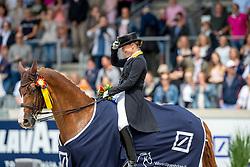 WERTH Isabell (GER), Bella Rose 2<br /> Aachen - CHIO 2019<br /> Geburtstagsüberraschung zum 50. für Isabell Werth<br /> Deutsche Bank Preis<br /> Großer Dressurpreis von Aachen<br /> Grand Prix Kür CDIO5* <br /> 21. Juli 2019<br /> © www.sportfotos-lafrentz.de/Stefan Lafrentz