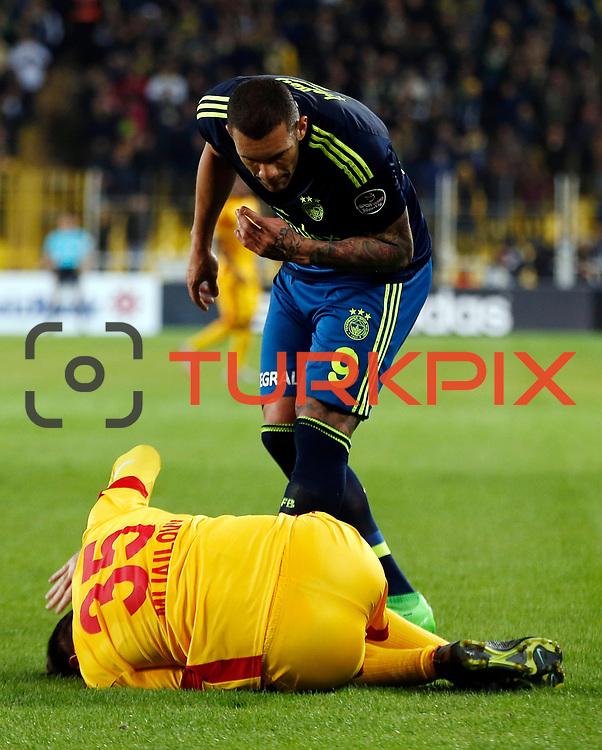 Fenerbahce's Fernandao during their Turkish super league soccer match Fenerbahce between Kayserispor at the Sukru Saracaoglu stadium in Istanbul Turkey on Sunday 13 March 2016. Photo by Str./TURKPIX