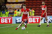 Jonathan Howson of Middlesbrough  during the EFL Sky Bet Championship match between Middlesbrough and Leeds United at the Riverside Stadium, Middlesbrough, England on 2 March 2018. Picture by Paul Thompson.