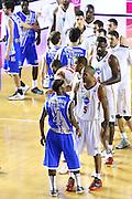 DESCRIZIONE : Roma Campionato Lega A 2013-14 Acea Virtus Roma Banco di Sardegna Sassari<br /> GIOCATORE :  team<br /> CATEGORIA : delusione<br /> SQUADRA : Banco di Sardegna Sassari<br /> EVENTO : Campionato Lega A 2013-2014<br /> GARA : Acea Virtus Roma Banco di Sardegna Sassari<br /> DATA : 26/12/2013<br /> SPORT : Pallacanestro<br /> AUTORE : Agenzia Ciamillo-Castoria/M.Simoni<br /> Galleria : Lega Basket A 2013-2014<br /> Fotonotizia : Roma Campionato Lega A 2013-14 Acea Virtus Roma Banco di Sardegna Sassari <br /> Predefinita :