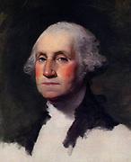 Gilbert  Stuart, portrait of George Washington, portrait-1796