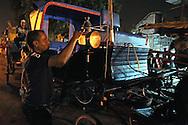 Horse drawn carriage in Bayamo, Granma, Cuba.
