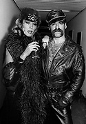 Amanda Lear with Village People
