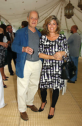 Actor JOHN STANDING and his wife SARAH at a party to celebrate the publication of Notting Hell by Rachel Johnson held in the gardens of 1 Rosmead Road, London W11 on 4th September 2006.<br /><br />NON EXCLUSIVE - WORLD RIGHTS