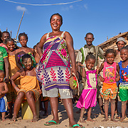 """""""Solar Mamas"""" Remeza in Ambakivao, a village set among mangroves in the western coastal region of Madagascar. <br /> <br /> Dubbed the """"Solar Mamas,"""" these women were the first in their village to join a program by the World Wildlife Fund (WWF) to become electric engineers capable of installing and repairing solar panels. <br /> Across much of this African nation, where 77% of the population of 21 million has no access to electricity -- a figure rising to a staggering 94% among the rural population  -- nighttime means the burning of kerosene lamps and diesel engines, which fill the houses with toxic smoke. And it means the destruction of forests for firewood in one of the world's most biologically-diverse habitats. <br /> <br /> Darkness also brings the threat of crime, violence and accidents.<br /> <br /> Madagascar is the world's forth largest island off the coast of east Africa."""