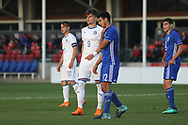 Edoardo Vergani of Italy (9) during the UEFA European Under 17 Championship 2018 match between Israel and Italy at St George's Park National Football Centre, Burton-Upon-Trent, United Kingdom on 10 May 2018. Picture by Mick Haynes.