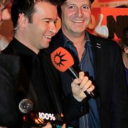 NLD/Hilversum/20130109 - Uitreiking 100% NL Awards 2012, Peter van der Vorst en Pascal Jacobs