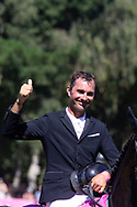 Nicolas Delmotte during the Jumping International of Dinard on August 2 at 5, 2018 at Val Porée in Dinard, France - Photo Damien Kilani / DK Prod / ProSportsImages / DPPI