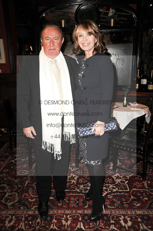 KIRSTY YOUNG and ANDREW NEIL at the Johnnie Walker Blue Label Great Scot Award 2010 in association with The Spectator and Boisdale held at Boisdale of Belgravia, 22 Ecclestone Street, London SW1 on 24th February 2010.