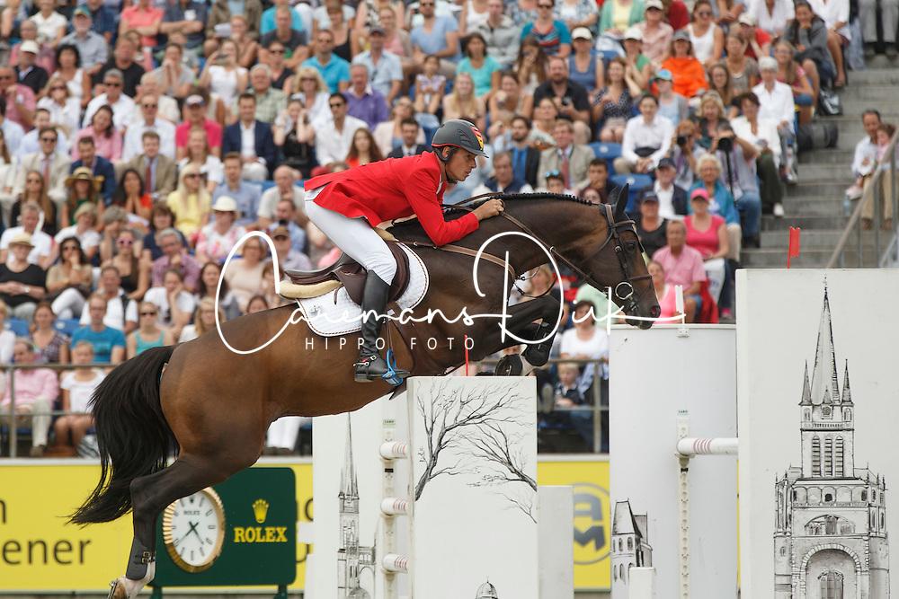 Ahlmann Christian, (GER), Taloubet Z<br /> Individual Final Competition<br /> FEI European Championships - Aachen 2015<br /> © Hippo Foto - Dirk Caremans<br /> 23/08/15