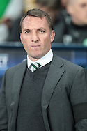 Brendan Rodgers (Manager)(Celtic) before the Champions League match between Manchester City and Celtic at the Etihad Stadium, Manchester, England on 6 December 2016. Photo by Mark P Doherty.