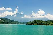 Sun Moon Lake in Central Taiwan.