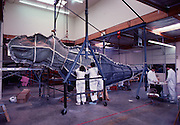 At Stan Winston Studios outside L.A. in Van Nuys, CA., the first scale model dinosaur for Steven Spielberg's Jurassic Park is being created.  Stan is one of Hollywoods most innovative character creators.