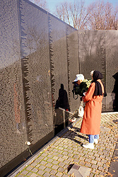 DC: Washington, DC Monuments, Vietnam War Memorial, Wall, no model release       .Photo Copyright Lee Foster, lee@fostertravel.com, www.fostertravel.com, (510) 549-2202.Image washdc216