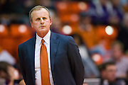 FORT WORTH, TX - JANUARY 19: Texas Longhorns head coach Rick Barnes looks on against the TCU Horned Frogs on January 19, 2015 at Wilkerson-Greines AC in Fort Worth, Texas.  (Photo by Cooper Neill/Getty Images) *** Local Caption *** Rick Barnes
