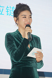 July 19, 2017 - Shanghai, Shanghai, China - Shanghai, CHINA-July 19 2017: (EDITORIAL USE ONLY. CHINA OUT) Chinese actress Huang Yi attends a promotional event in Shanghai, July 19th, 2017. (Credit Image: © SIPA Asia via ZUMA Wire)