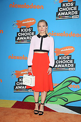 INGLEWOOD, CA - MARCH 24: Mel B. attends Nickelodeon's 2018 Kids' Choice Awards at The Forum on March 24, 2018 in Inglewood, California. Credit: Faye Sadou / MediaPunch. 24 Mar 2018 Pictured: Kristen Bell. Photo credit: FS/MPI/Capital Pictures / MEGA TheMegaAgency.com +1 888 505 6342