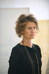 File photo - Syrian First Lady Asma Al Assad visits, with Slovak First Lady Silvia Gasparovic a school for children with special needs, and check on methods of Braille for blind children in Bratislava, Slovakia, on April 29, 2009. The Syrian presidential couple is on a 2-day visit to Slovakia. Syria's British-born first lady Asma Assad has begun treatment for breast cancer. The Syrian presidency posted on its Facebook page a photo of President Bashar Assad sitting next to his wife in a hospital room. Photo by Ammar Abd Rabbo/ABACAPRESS.COM