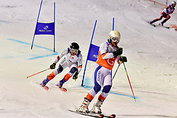 Team Event at the WPAS_2019 Alpine Skiing World Cup, Morzine, France