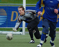 Keeper Kenneth Flack, Strindheim. 2. divisjon 2004 - avdeling 4. Strindheim - Kolstad 6-1. 10. mai 2004. (Foto: Peter Tubaas/Digitalsport)