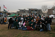 16 Jan 2005: Philadelphia Eagles fans at Lincoln Financial Field in Philadelphia, PA. <br /> <br /> Mandatory Credit:Todd Bauders/ContrastPhotography.com
