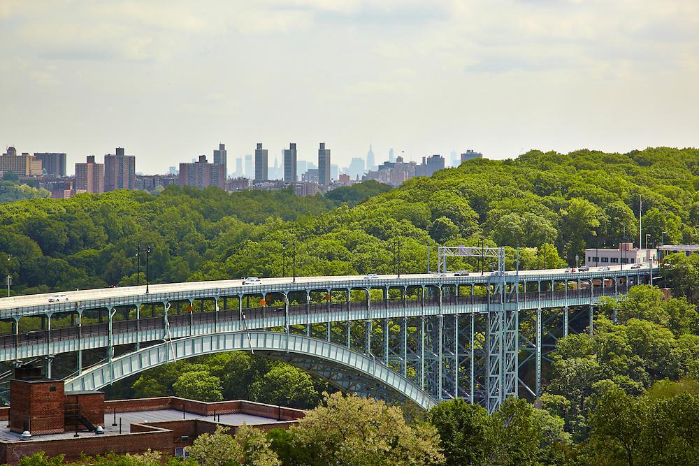 View of Henry Hudson Parkway Bridge from 750 Kappock Street, 10th floor, Riverdale
