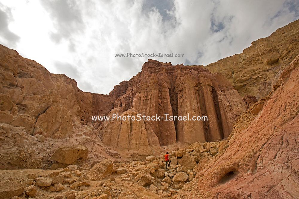 Israel, Eilat Mountains, Amram columns or Pillars