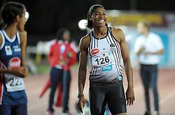 Cape Town - 160407 - Caster Semenya took part in the 400m race at Varsity Athletics at the Coetzenburg Stadium in Stellenbosch. Picture: David Ritchie