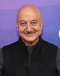 February 20, 2019 - Hollywood, California, U.S. - Anupam Kher on the carpet at the NBCUniversal Mid Season Press Junket at Universal Studios. (Credit Image: © Lisa O'Connor/ZUMA Wire)