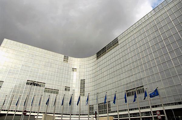 Belgie, Brussel, 28-7-2011Het Berlaymont gebouw, zetel van de Europese Commissie.Foto: Flip Franssen/Hollandse Hoogte