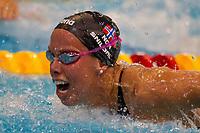 BILDET INNGÅR IKKE I FASTAVTALENE PÅ NETT MEN MÅ KJØPES SEPARAT<br /> <br /> Svømming<br /> EM Debrechen 2012<br /> Foto: imago/Digitalsport<br /> NORWAY ONLY<br /> <br /> 25.05.2012<br /> Ingvild Snildal of Norway competes during the women s 100m butterfly final of the 31th European Swimming Championships in Debrecen, Hungary, May 25, 2012. Snildal won the gold medal with of 58.04 seconds