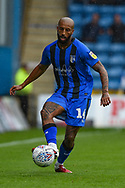 Gillingham FC forward Josh Parker (14) during the EFL Sky Bet League 1 match between Gillingham and Peterborough United at the MEMS Priestfield Stadium, Gillingham, England on 22 September 2018. Picture by Martin Cole