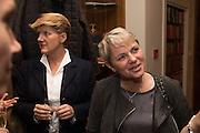 CLARE BALDING; ALICE ARNOLD Tatler and Dubarry host an evening with Clare Balding, Dubarry of Ireland, 34 Duke of York's Sq. London. 13 October 2016.
