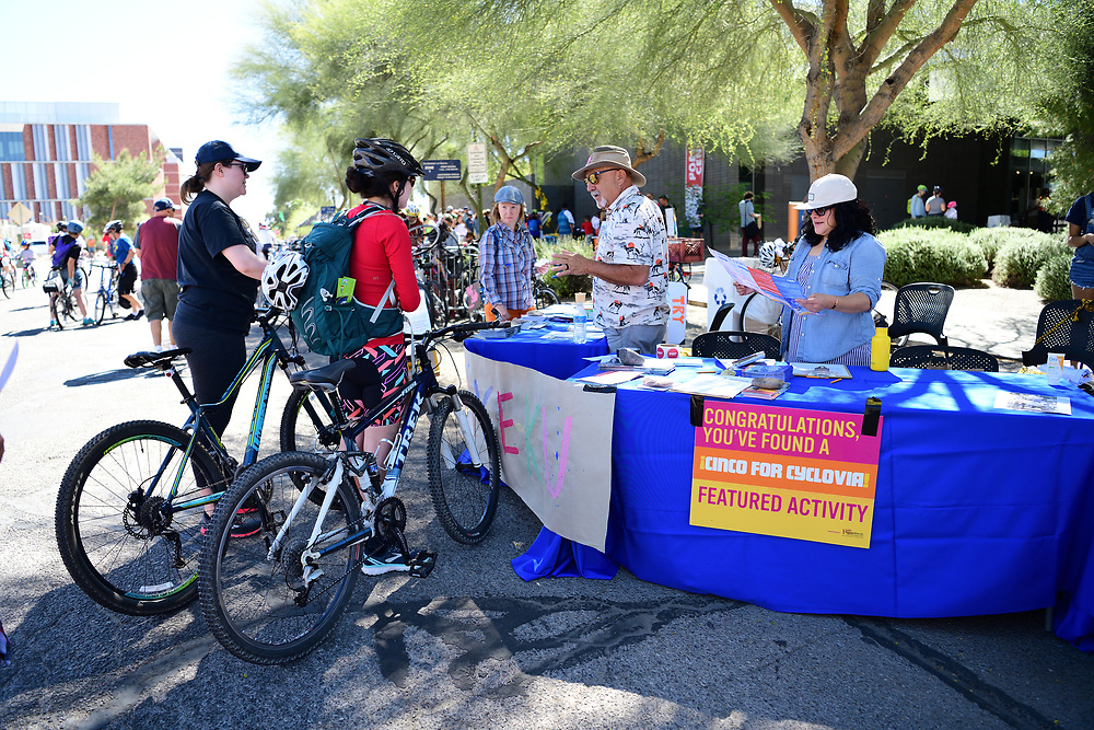 April is National Poetry Month. That's why the University of Arizona Poetry Center is throwing a party for Cyclovia Tucson participants.