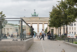 16 September 2021, Berlin, Germany: The historical site of Unter den Linden in Berlin.