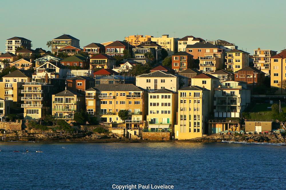 Ben Buckler Glows in the afternoon sun, Bondi, Sydney, Australia.