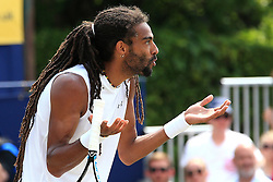 Dustin Brown of Germany reacts - Mandatory by-line: Matt McNulty/JMP - 05/06/2016 - TENNIS - Northern Tennis Club - Manchester, United Kingdom - AEGON Manchester Trophy