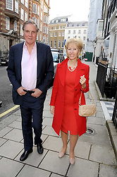 JONATHAN & ELIZABETH AITKEN at the Spectator Summer Party held at 22 Old Queen Street, London SW1 on 3rd July 2008.<br /><br />NON EXCLUSIVE - WORLD RIGHTS