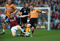 Kevin Foley<br /> Wolverhampton Wanderers 2009/10<br /> James Milner Aston Villa<br /> Aston Villa V Wolverhampton Wanderers 20/03/10<br /> The Premier League<br /> Photo Robin Parker Fotosports International
