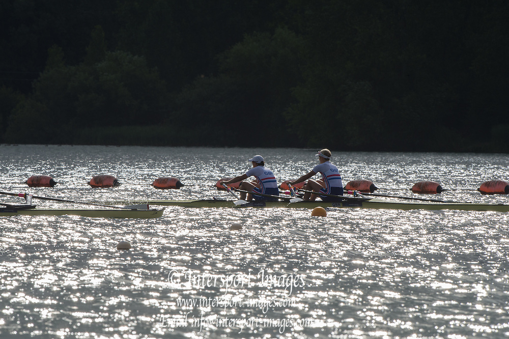 Caversham, England, GBRW2X, training, 2015 GBRowing World Championship Team Announcement. Tuesday. 21.07.2015.  At the Reading Training Base. [Mandatory Credit. Peter SPURRIER/Intersport Images]