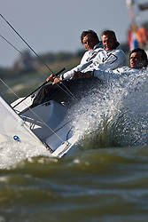 Medemblik, the Netherlands, September 8th 2009. Gaastra Dragon worlds 2009. Day 4, race 6 and 7. © Sander van der Borch