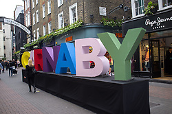 May 4, 2017 - London, United Kingdom - Carnaby Style Night in association with GQ is back for its sixth year in London on May 4, 2017. Shopping music and live performances take place at iconic Carnaby Street providing discounts and entertainment. (Credit Image: © Alberto Pezzali/NurPhoto via ZUMA Press)