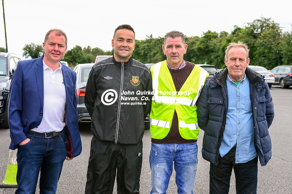 Pictured   at the FAI Festival of Football in the MDL grounds, Navan are from left: Damien Clarke, Conor Byrne, Jack Hand and Olie Cassidy.<br /> <br /> Photo: GERRY SHANAHAN-WWW.QUIRKE.IE<br /> <br /> 21-07-2019