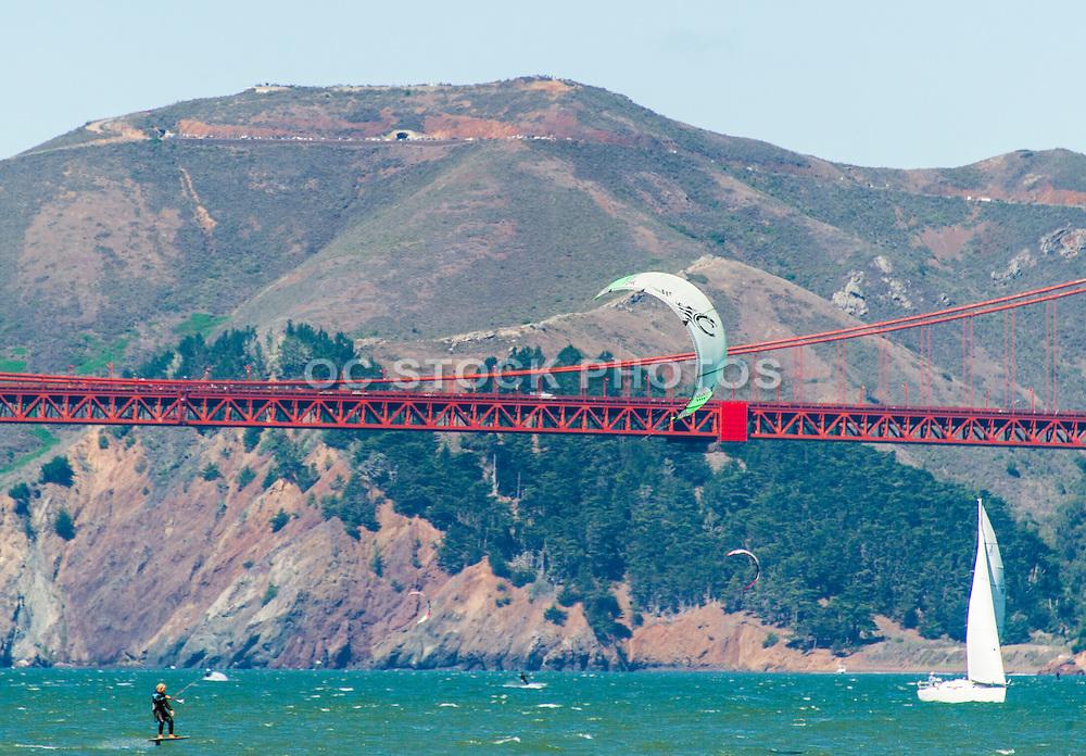 Kitesurfing in San Francisco Bay