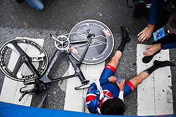 September 19, 2017 - Bergen, NORWAY - 170919 Thomas Pidcock of Great Britain in the finish area after the Men Junior Individual Time Trial on September 19, 2017 in Bergen..Photo: Jon Olav Nesvold / BILDBYRN / kod JE / 160021 (Credit Image: © Jon Olav Nesvold/Bildbyran via ZUMA Wire)