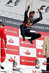Motorsports: FIA Formula One World Championship 2012, Grand Prix of Great Britain, Silverstone, 08.07.2012<br /> #2 Mark Webber (AUS, Red Bull Racing)<br /> © pixathlon