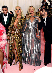 Rita Ora and Kate Moss attending the Metropolitan Museum of Art Costume Institute Benefit Gala 2019 in New York, USA.