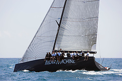 08_00112 © Sander van der Borch. Valencia - Spain,  1st may 2008 . TP52 Mean Machine Sea Trials in Valencia.